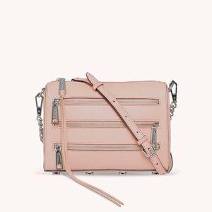Rebecca Minkoff   Rose Mini 5 Zipper Crossbody Bag